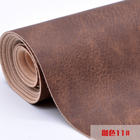 Crazy Horse Leather PU Soft Bag Sofa Cloth DIY Manual Materials cuero sintetico