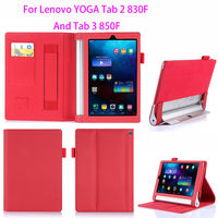 Luxury Leather Case For Lenovo Yoga Tablet 2 830f 830L Cover For Lenovo Yoga Tab 3
