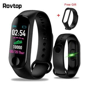 M3plus Smart Wristband Smart Bracelet with Extra Strap Smart Band Heart Rate Activity Fitness Tracker Smart Watch M3 Pro M3 Plus(China)
