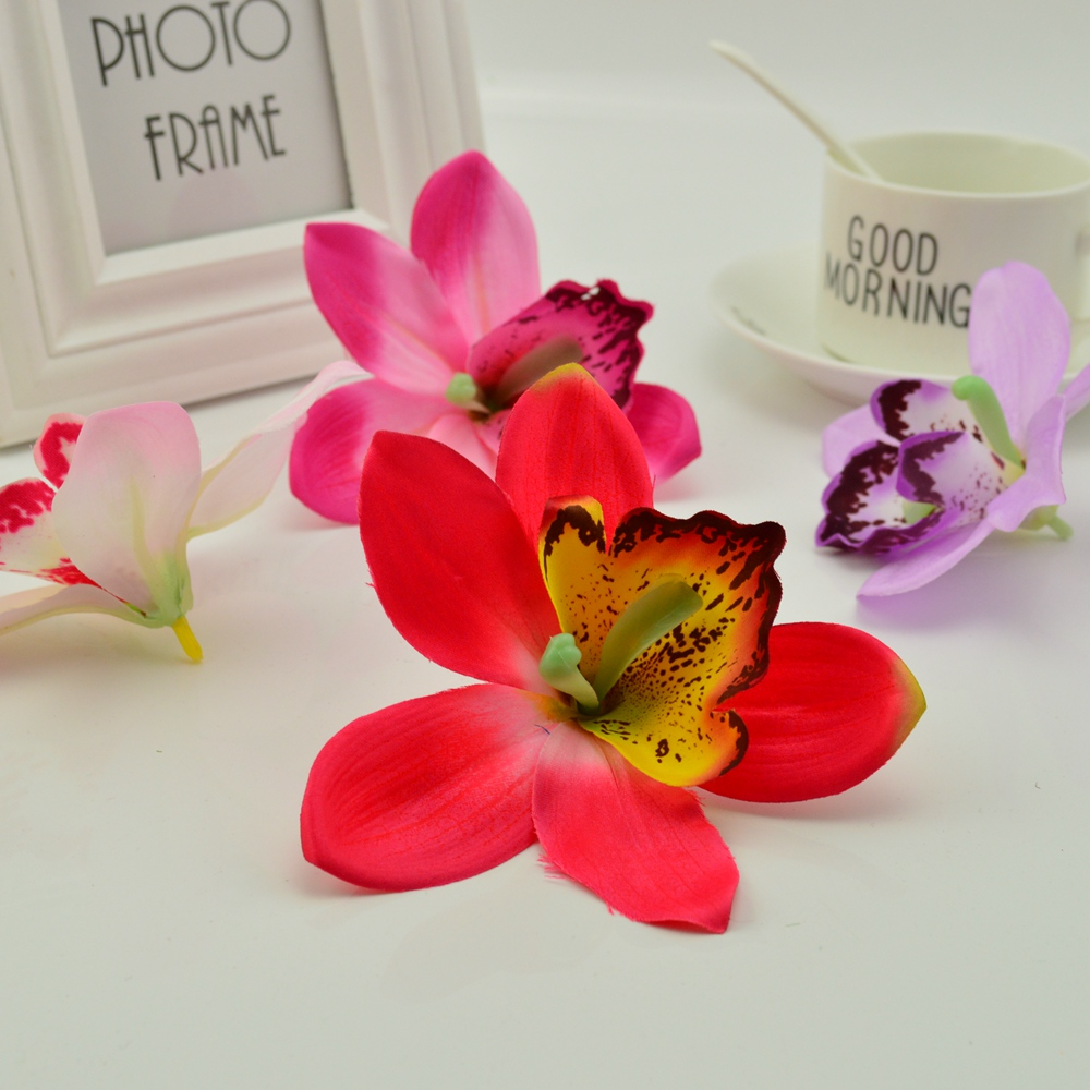 20pcs cheap silk gradient orchid diy wreath gift scrapbooking fake 20pcs cheap silk gradient orchid diy wreath gift scrapbooking fake butterfly artificial flower for home wedding decoration in artificial dried flowers izmirmasajfo Image collections