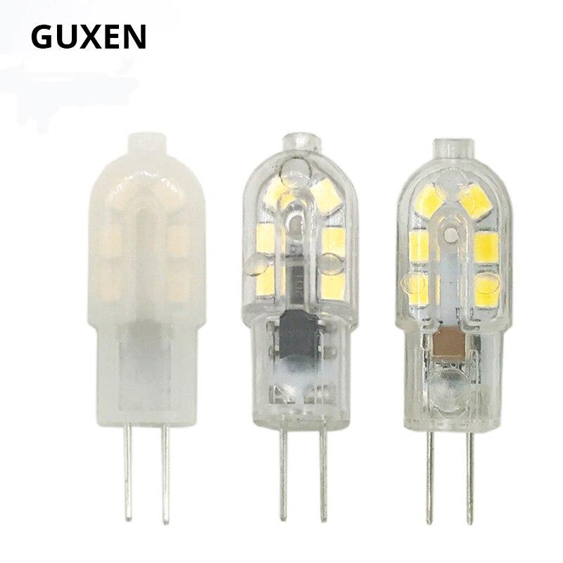 GUXEN 5W New G4 Led DC 12V 12leds Lamp Led Bulb S