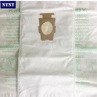 NTNT KIRBY VACUUM BAGS 6 Sentria UNIVERSAL F Style MICRON MAGIC Hepa White Cloth With Printing