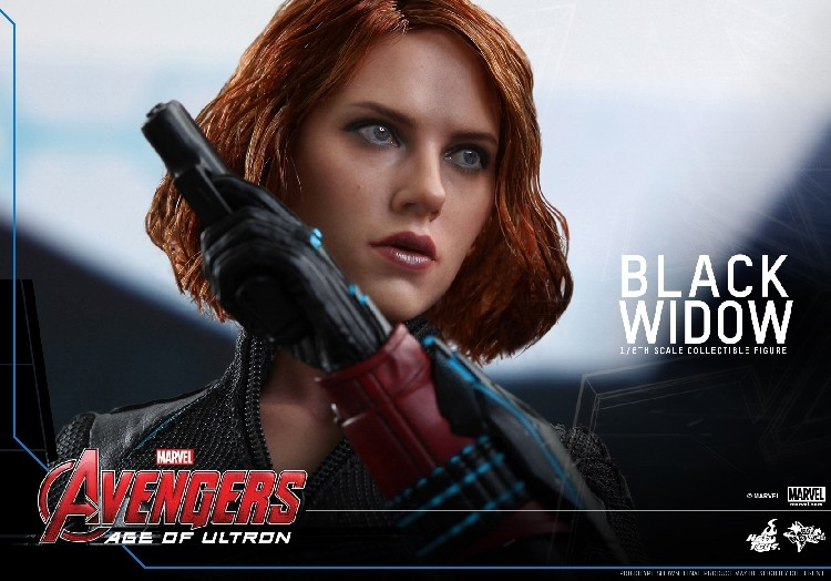 1 6th Collectible Figure Doll Avengers Age Of Ultron Black Widow Scarlett Johansson 12 Action Plastic Model Toys In Toy Figures From