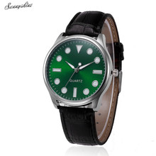 Sizzling Girls Watches Retro Design Leather-based Band Analog Alloy Quartz Wrist Watch wholesale v