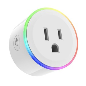 Image 5 - WiFi Switch Mini Socket Plug Wireless Remote Control Outlet with Timer,Dimmer LED Light, Smart Home Compatible with Alexa Google
