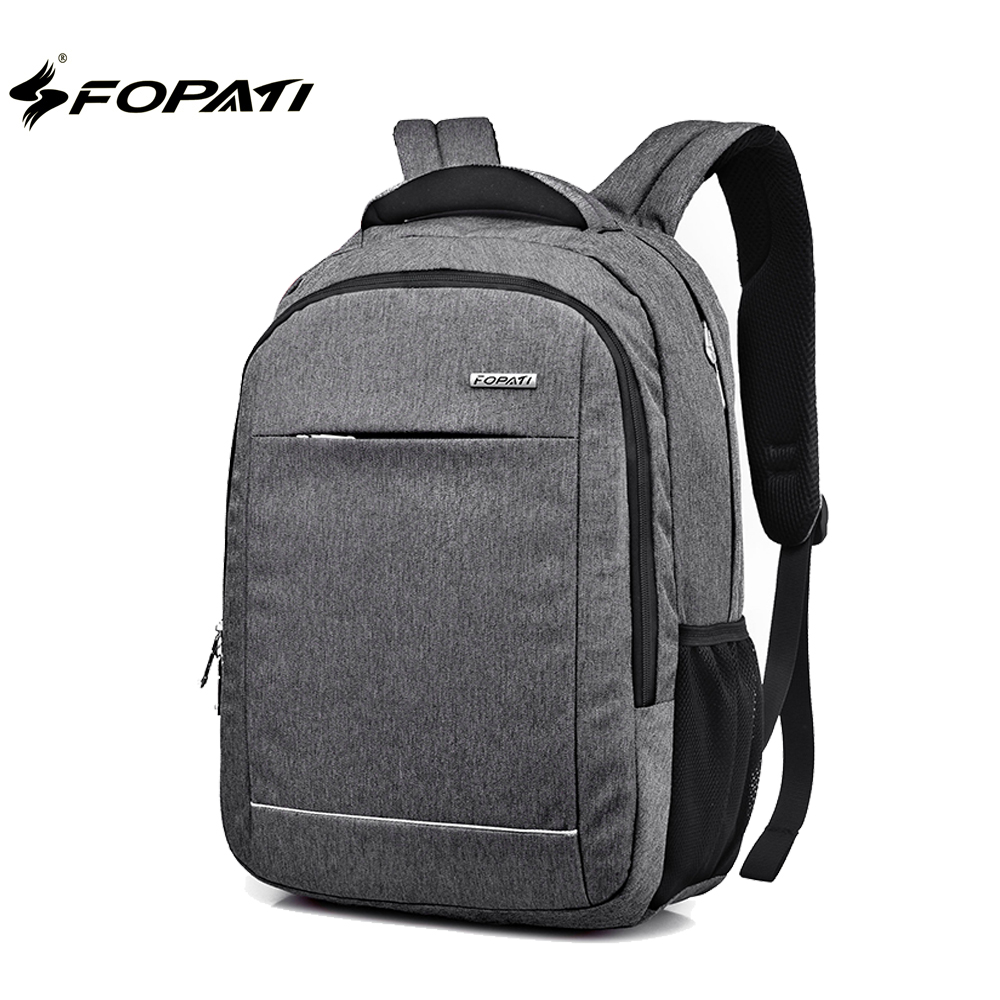 FOPATI Brand 14 15 15.6 inch Backpack Bag Men Male Student School Backpack Casual Rucksacks Laptop Backpacks Women Mochila