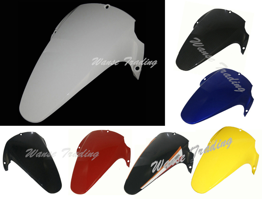 waase Rear Wheel Hugger Fender Mudguard Mud Splash Guard For Honda CBR954RR CBR 954 RR 2002-2003 motorcycle rear wheel hugger fender mudguard mud splash guard for suzuki gsxr600 gsxr750 gsxr 600 750 2006 2007 2008 2009 2010