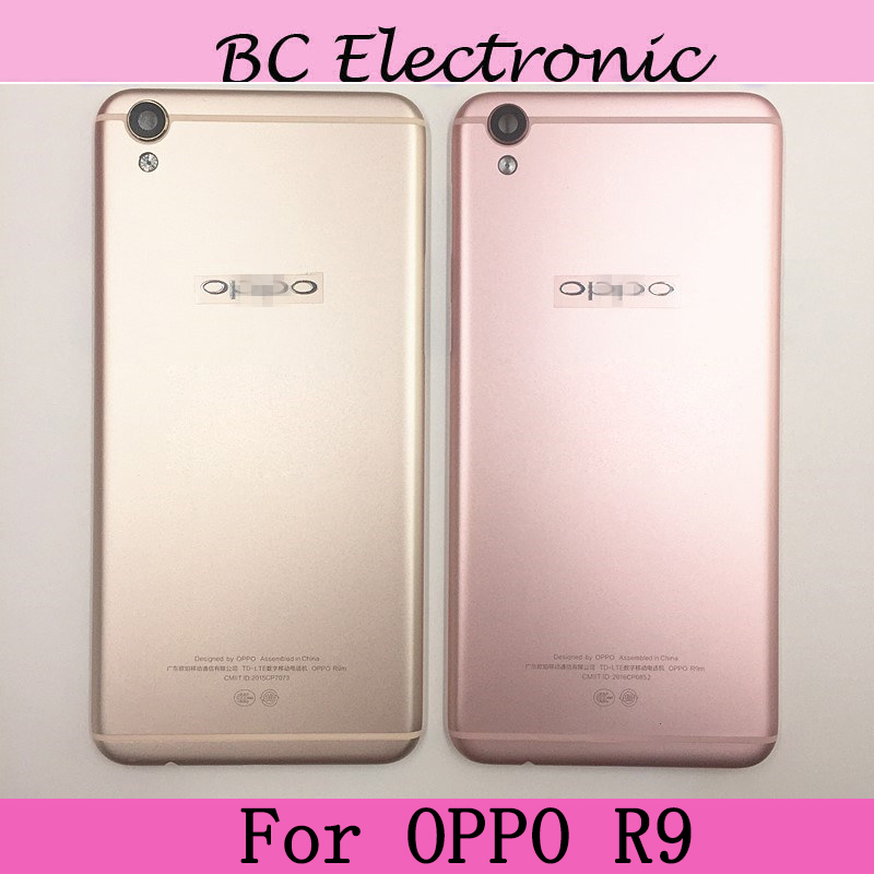 Back Housing Battery Door Cover Rear Case For OPPO R9 Or OPPO R9 Plus Mobile Phone Cases Replacement Repair Parts