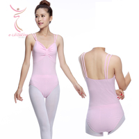 Ballet Dancers Wear Adult Double Strap Gymnastics Leotard