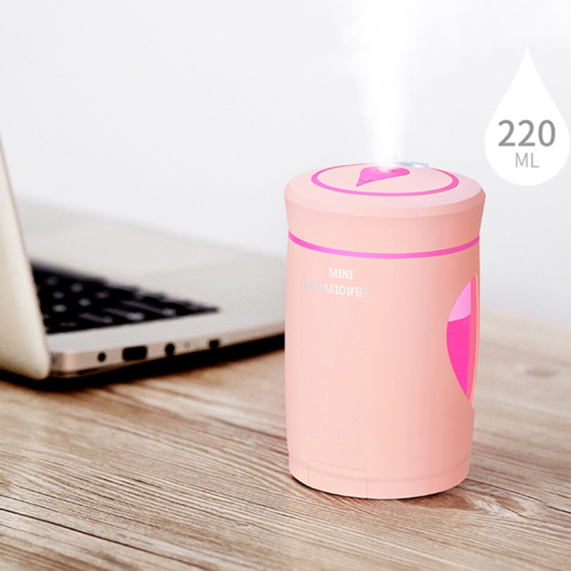 HOT Air Humidifier Ultrasonic Humidifiers Portable Usb Diffuser Mist Maker Aromatherapy Diffuser Aroma Mist Maker in Humidifiers from Home Appliances