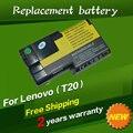 Jigu substituição da bateria do portátil para ibm thinkpad t20 t21 t22 t23 t24 02k6620 02k6621 02k6649 02k7025 02k7026 02k7028 08k8026