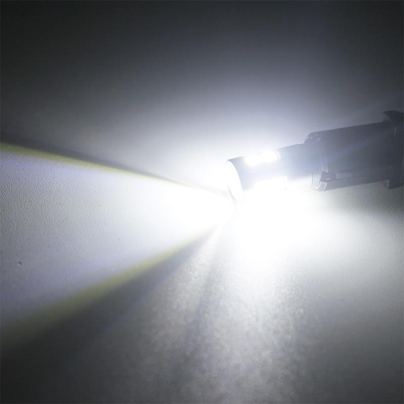 2 stk Car-styling T10 W5W LED nummerpladerlamper Bagagerumslampe - Billygter - Foto 4