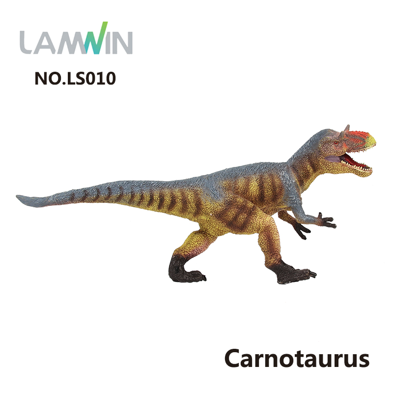 Lamwin Hot Jurassic Collection Toys Carnotaurus Plastic Dinosaur Toys Model Action Figures 7 Types