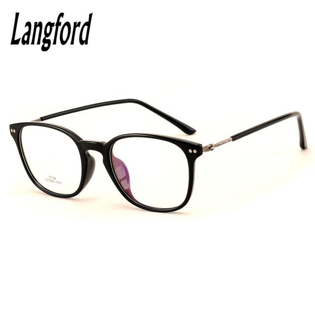 Projetos armações de óculos TR90 óculos de armação mulher vidros ópticos quadros prescrição grande eyewear grande moderno feminino 3134