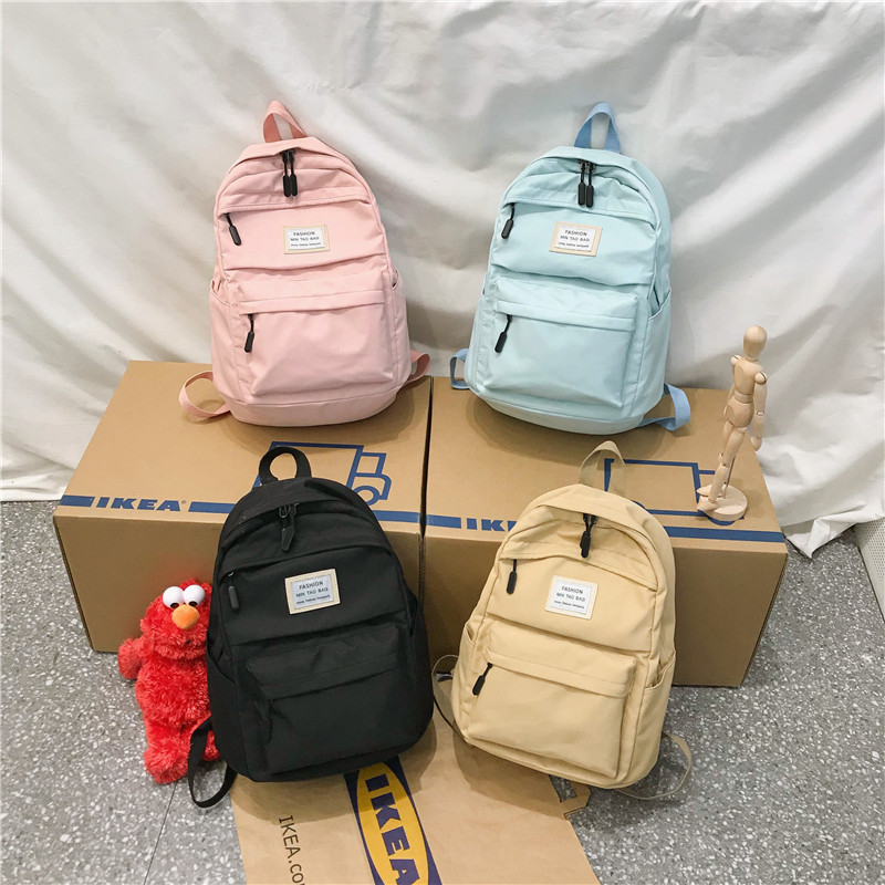 Fashion Backpack Women Backpack 3 PCS set Students shoulder Bags bagpack Candy Colour Junior High school Fashion Backpack Women Backpack 3 PCS set Students shoulder Bags bagpack Candy Colour Junior High school bags for teenage girls