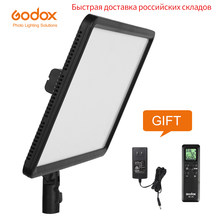 GODOX – lampe LED ultrafin 30W, 3300-5600k, LEDP260C, panneau d'éclairage vidéo, pour appareil photo numérique DSLR, Studio de photographie