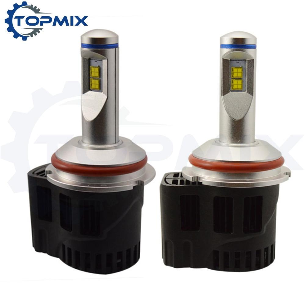 Canbus LED Voiture Phare Kit 110 W 10400LM 9007 HB5 LED haute puissance LED Tête Ampoule Haute/Faible Faisceau 9004 HB1 Voiture Lumière 6000 K/5000 K