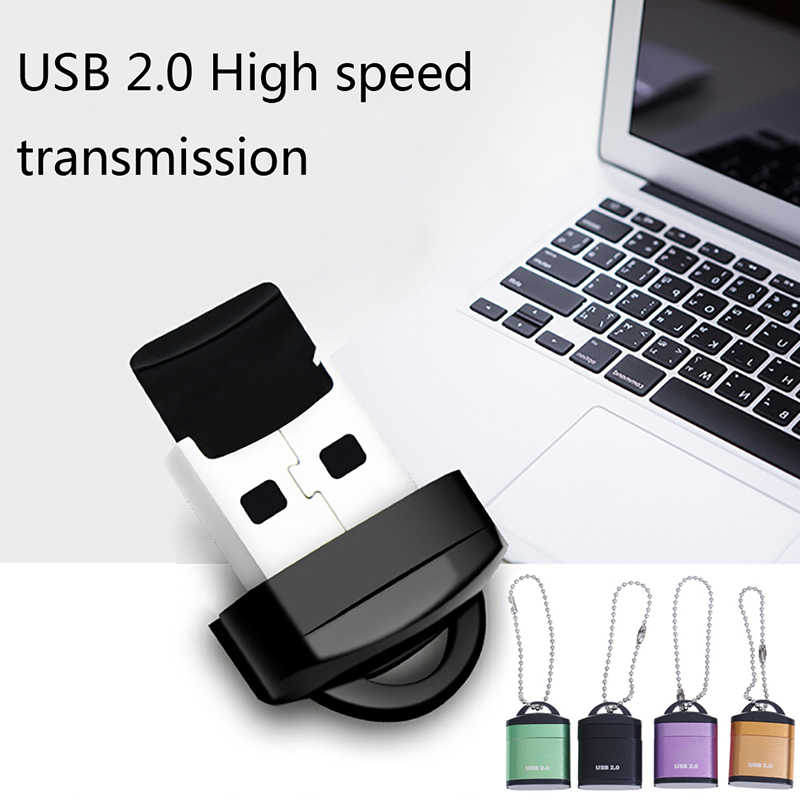 SD Card into a usb flash drive for computer or for car Reader with innovative TF card slot change the card reader