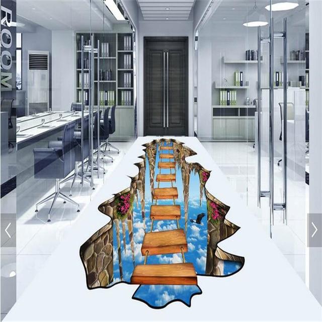 Custom made pavimento 3D per disegnare soggiorno bagno in conformità ...