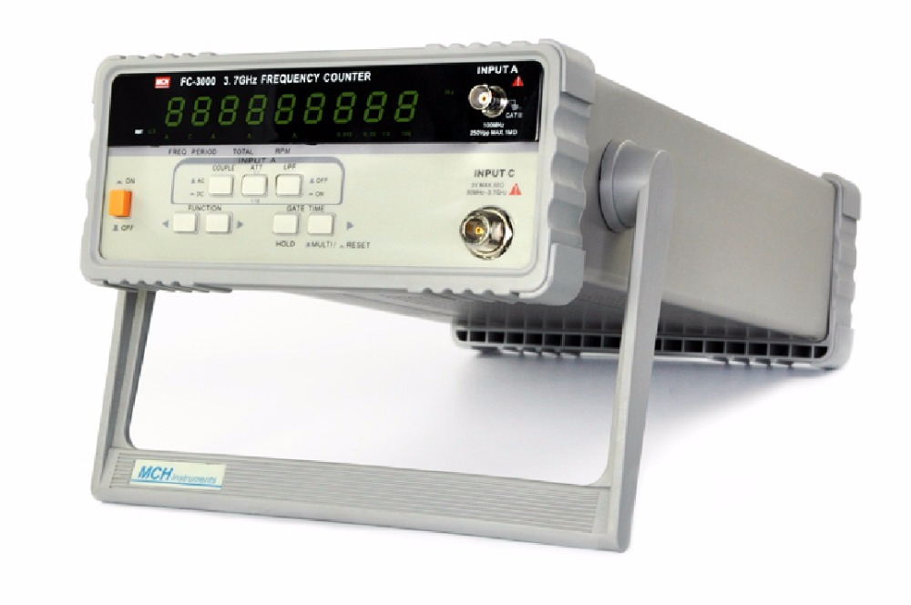 MCH FC-3000 frequency meter 3.7G9 digit display high precision digital frequency meter sensitivity 100mV цена
