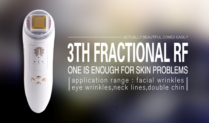 Радио частота Уход за кожей лица подъема подтяжка кожи, удаление морщин Уход за кожей машина дробные РФ электропорации массажер для лица