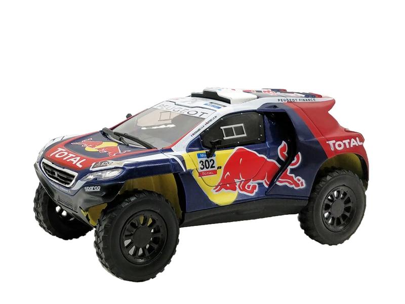 1:43 Puegeot 2008 Dakar DKR 2015 Diecast Model Car все цены