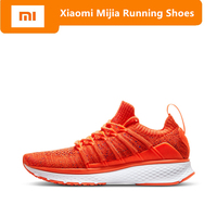 Original Xiaomi Mijia Women Sports Shoes outdoor Mi 2 smart sneakers Elastic Knitting Vamp Smart female Running Shoes
