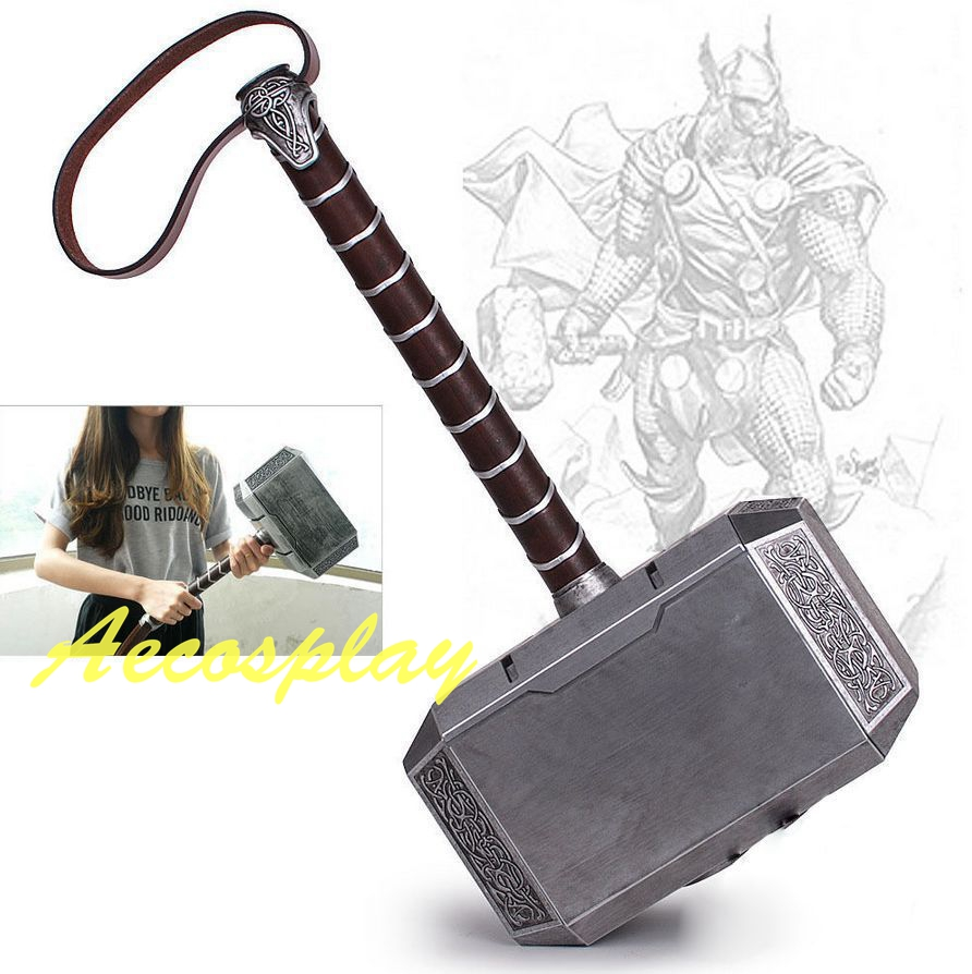New Collection Thor The Dark World Hammer Mjolnir Model Resin Cosplay Prop1:1