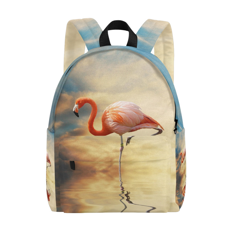 Canvas Backpack Women Fashion Bags Book Bag Wild Flamingo Backpack Travel Daypack backpacks for teenage girls 14inch Animal Bags winner brand fashion unique design women book bag ladies backpack bags canvas schoolbag backpacks for teenage girls
