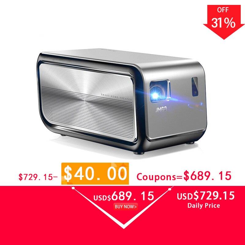 Jmgo J6S mini projecteur led Full HD 1080 P Projetor 1920*1080 Android wifi led Proyector 3D Bluetooth Pour vidéoprojecteur home cinéma