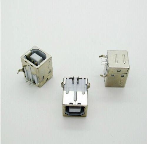 5 PCS USB 2.0 Female Type-B Connector Replac Solder Port New