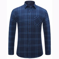 Alimens Plaid Shirt Men Long Sleeve High Quality 100 Cotton Slim Fit Style Casual Shirts Button Down Flannel Shirts For Men