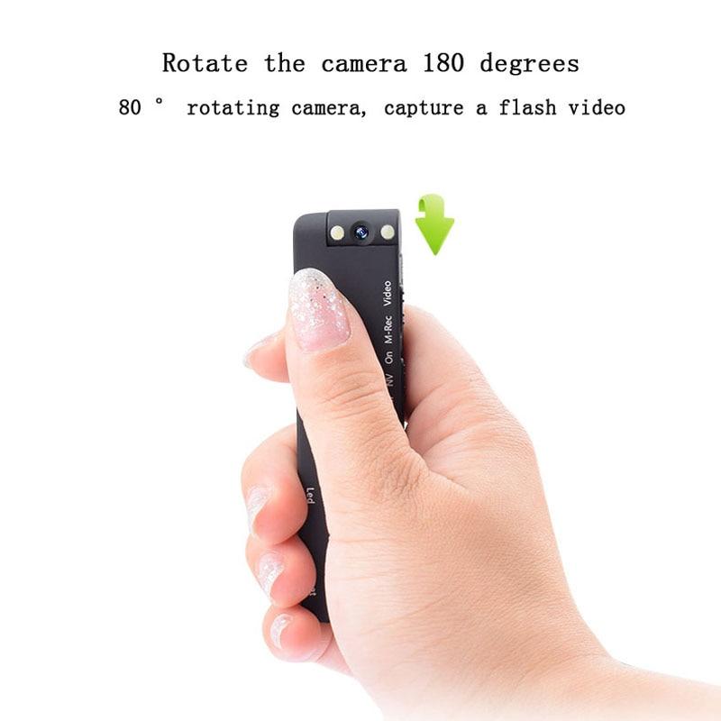 Infrared Night Mini Camera HD 1080P Sport Digital Micro Cam Motion Detection Camcorder Recorder Recording Pen Clip CAM