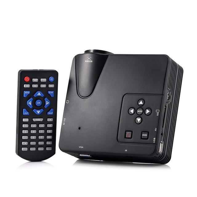 H80 Projetor 640x480 Pixels 800 Lumens Home Theater Portátil Projetor Full HD 1080 P Projeção Mini LED De Vídeo Proyector