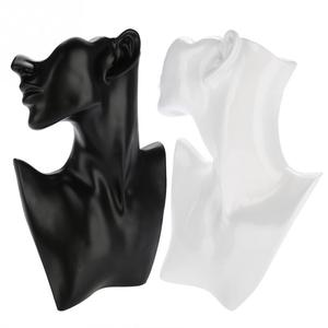 Image 5 - Mannequin ראש Stand שרשרת עגיל מחזיק Mannequin ראש חזה Stand דגם Stand תכשיטי תצוגת עגיל תצוגת עובש