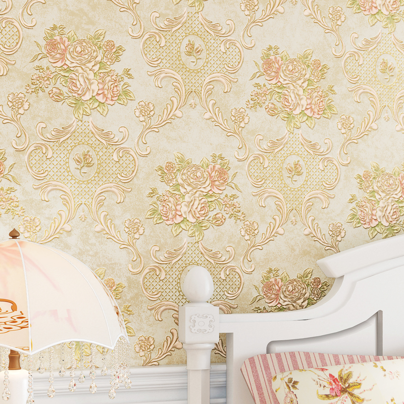 beibehang countryside pastoral bedroom papel de parede 3D flowers wallpaper for wall 3d wall paper contact-paper for living room beibehang european pastoral relief wallpapers papel de parede 3d wall paper roll living room wallpaper for walls vinyl contact