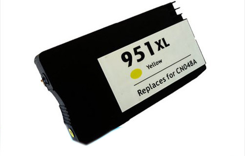 einkshop 951XL Yellow Compatible Ink Cartridge Replacement For <font><b>HP</b></font> <font><b>951</b></font> XL Officejet Pro 8100 8600 8630 8640 8610 8620 Printer image