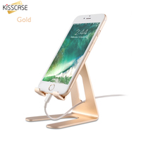 Universal Aluminum Alloy Mobile Phone Tablet Desk Holder Stand For Iphone SE 6 6S 7 Plus