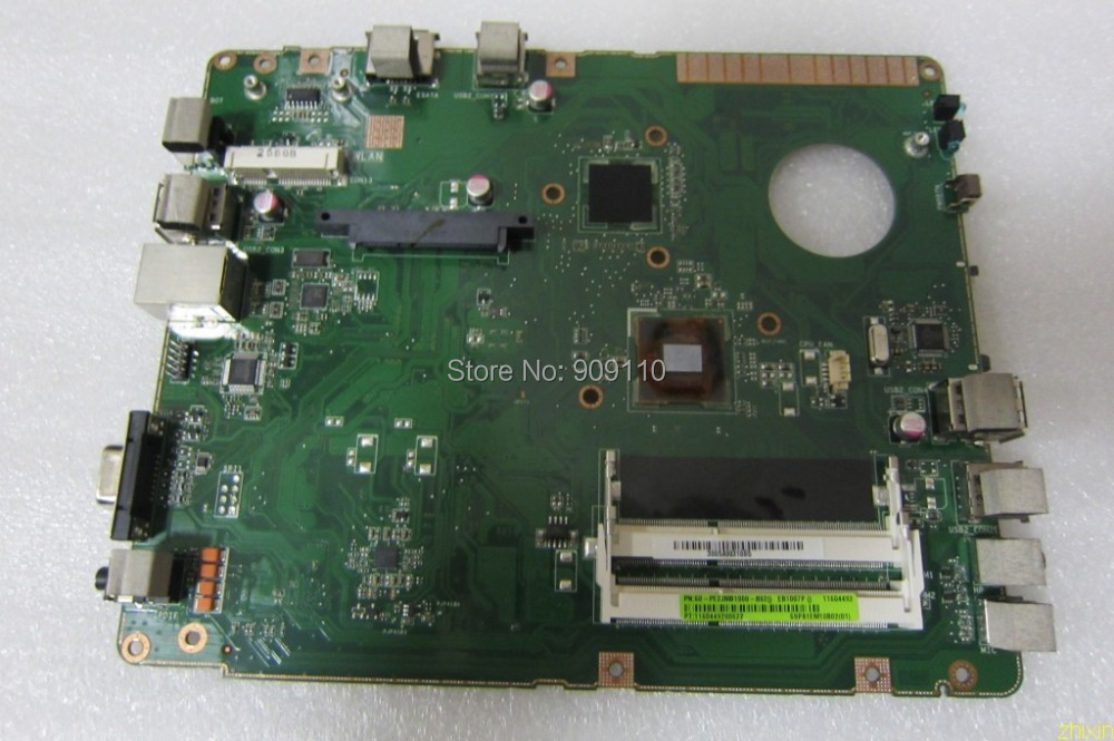 EB1007P integrated motherboard for asus laptop EB1007P full test