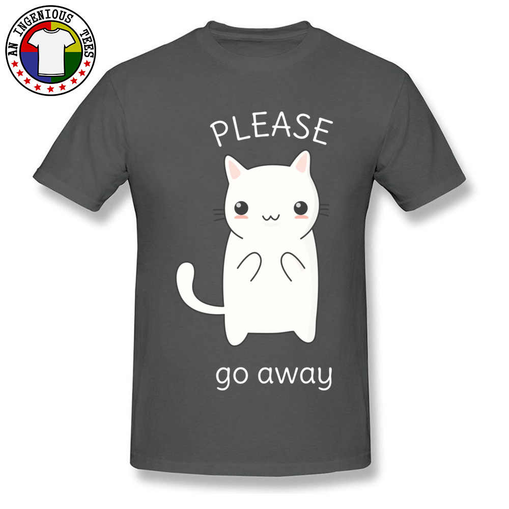 e9a2cde860 College Tourist T-Shirt Funny Kawaii Rude Cat Print Fashion T Shirt Slim  Fitness No Pocket Design Tee Shirt For Young 2018 New