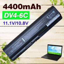 Bateria do Portátil para Compaq 4400 MAH Presario Cq50 Cq60 Cq61 Cq70 Cq71 Cq40 Cq45 Cq41 para Pavilion DV4 DV5 DV6 Dv6-1000 G50 G61