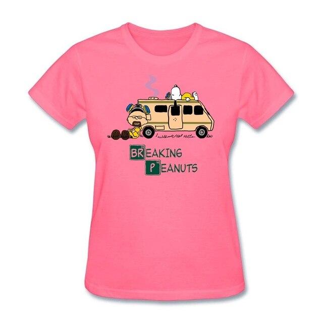 Mashup t shirt femme à manches courtes, tendance de la série Bad and cacahuètes, cadeau chrétien, site web