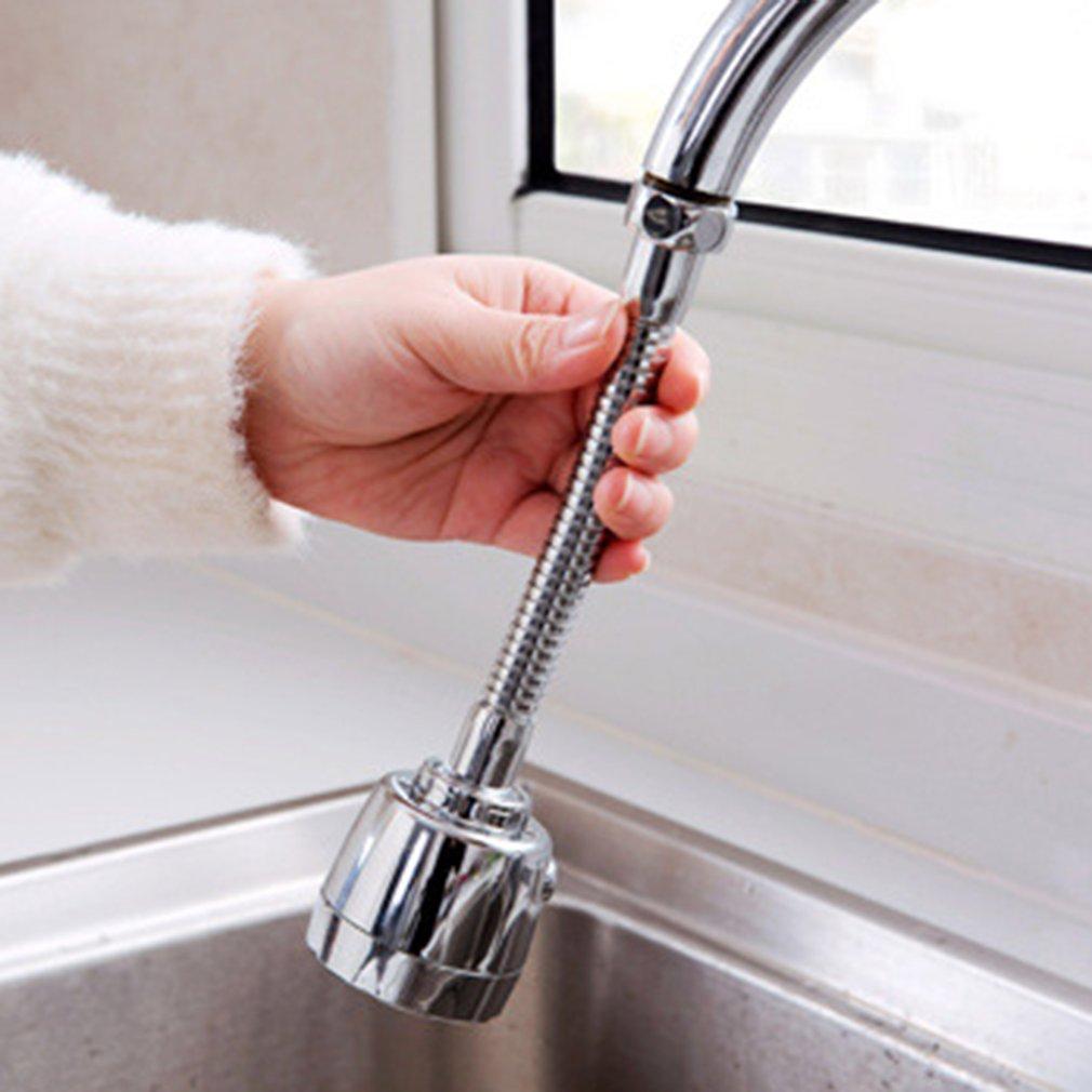 Rotable Faucet Nozzle Filter Adapter Water Saving Tap Aerator Diffuser