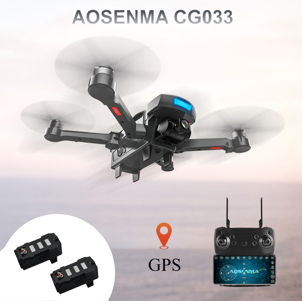 CG033 Dron Rc Helicopter Brushless Motor 2.4G FPV Wifi Gimbal HD Camera 1080P GPS Altitude Hold Quadcopter Drone VS X8PRO LH-X28