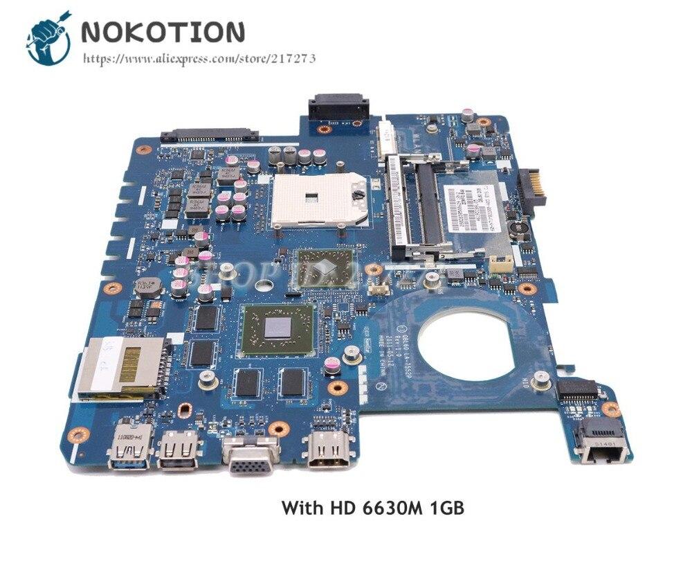 NOKOTION carte mère d'ordinateur portable pour Asus K53TA K53TK X53T K53T carte principale QBL60 LA-7552P Socket FS1 HD 6630 M 1 GB