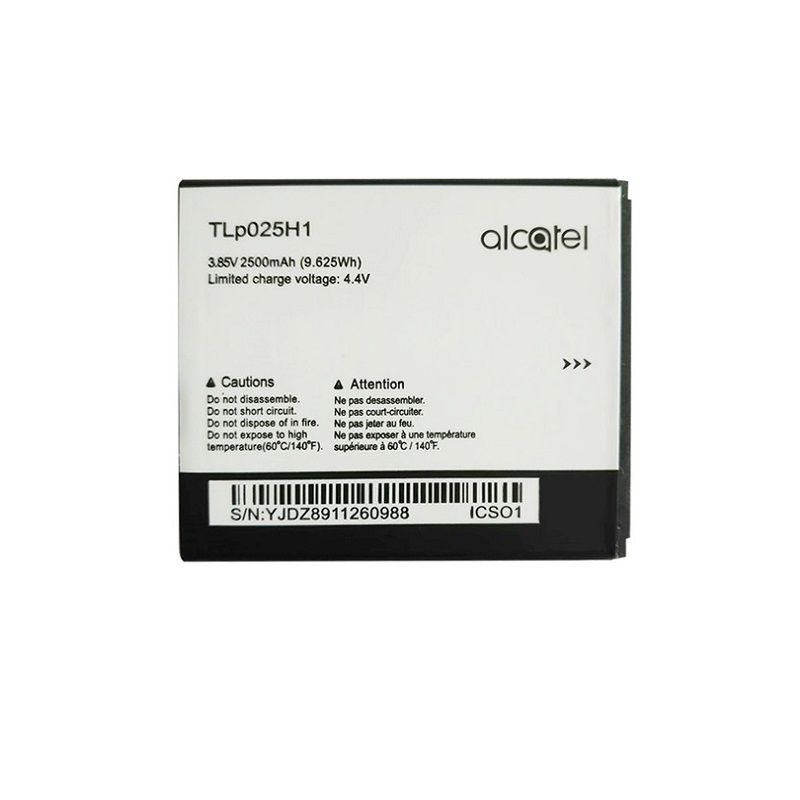 New TLp025H1 Battery For Alcatel OneTouch POP 4 OT-5051X OT-5051D 5051X 5051D 5051 Pop 4 (5.0) TLp025H7 Mobile Phone