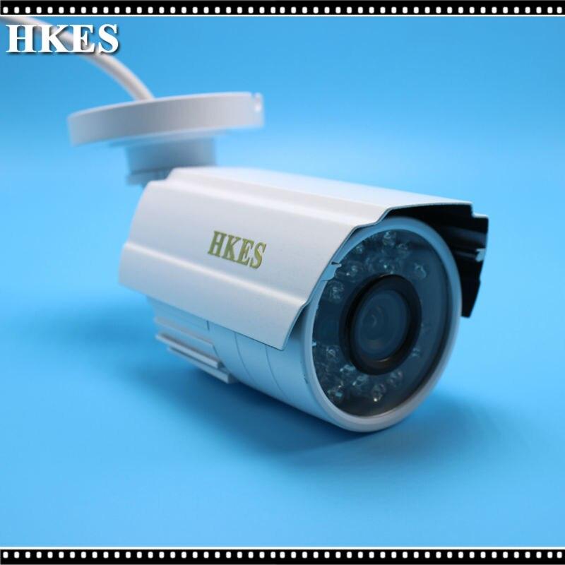 Free Shipping New Waterproof AHD 720P Bullet Metal Camera HD 1MP CCTV Outdoor Security 24 IR Night Vision BNC Cable full hd 1080p bullet outdoor security camera ip 960p 720p 1mp free shipping