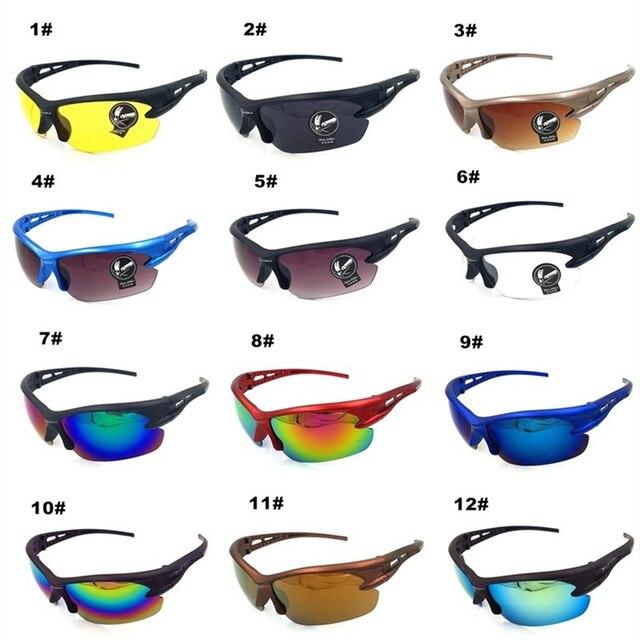 2018 bro quente ciclismo óculos à prova de explosão das mulheres dos homens esportes ao ar livre óculos de bicicleta óculos de sol 1