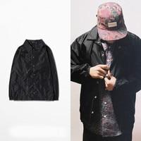 New Fashion Spring Autumn Men Jackets Retro Coaches Coat Turn Down Collar Bomber Windbreaker Male Jacket and Coats