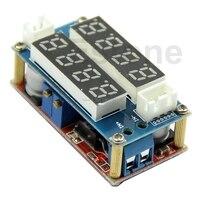 CC CV 5A Adjustable Power Step Down Charge Module LED Driver Voltmeter Ammeter B119